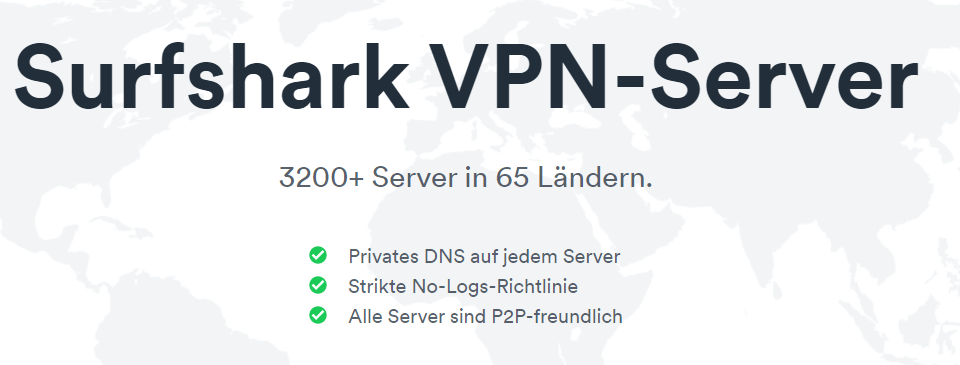Surfshark-Server-3200-in-65-Ländern